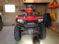 For sale or trade: 2009 Kawasaki brute force 650