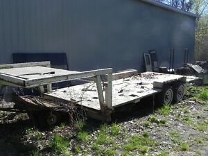 Flat deck fifth wheel trailer Trade for Boat and Motor