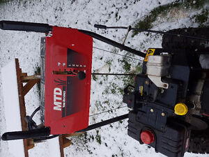 Snowblower MTD 10hp 28""