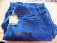 Mens New Northwest insulated jeans, size 40, length 30
