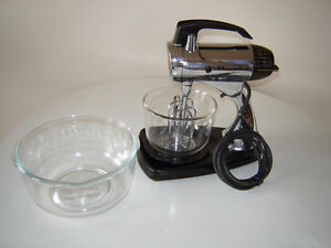Vintage Chrome Sunbeam Stand Mixer