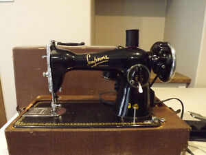 Portable Antique Simpsons Canada Sewing Machine