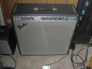 Vintage Fender Super Reverb w/ Jensen Speakers
