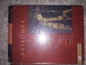Épisodes manuel secondaire 3 volume 1