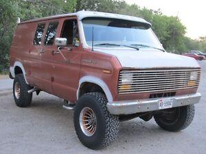 Rare 85 Ford 4x4 van
