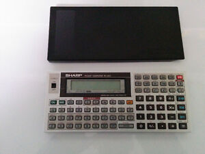 Vintage Sharp Pocket Computer PC-1403 - 1986