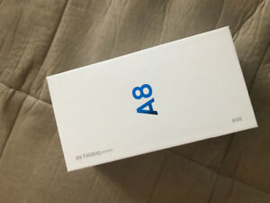 Samsung A8 Brand New in Box