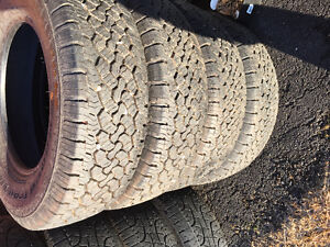 "10 Ply - Set of Four Near New - 17"" BFG 99% Tread"