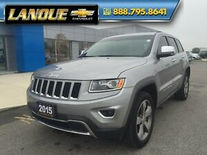 "2015 Jeep Grand Cherokee Limited   SUNROOF-20"" WHEELS-GREAT PRIC Windsor Region Ontario image 1"