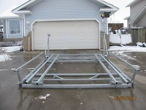 CUSTOM CANTILEVER PONTOON, BOAT AND WAKEBOARD BOAT LIFTS Prince George British Columbia image 7