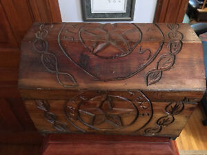 Hand Made Storage Box from New Braunfels Texas