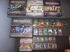 Android Netrunner LCG + 4 big exp and 24 small expansions