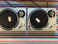 Technics 1200/1210 mk5 pair