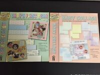 2 Baby themed paper kits