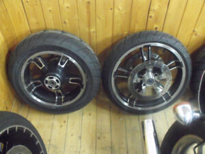 New Take-Off Harley Davidson Touring Enforcer rims