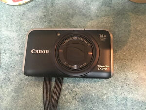 Canon Powershot Camera SX210 IS  14X Opitcal Zoom