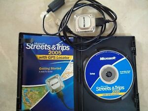 Microsoft Streets & Trips 2005 with GPS hardware