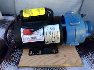 Hot tub pump with new impeller