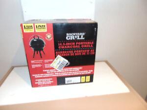 BBQ portatif au charbon 37 cm.