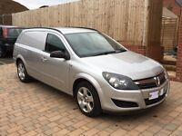 Vauxhall Astra van sportive (rear seats)