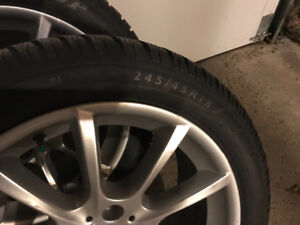 BMW 5 Series Winter Tires and OEM Rims