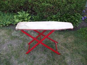 Vintage Small Wood Ironing Board Belleville Belleville Area image 1