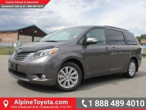 2017 Toyota Sienna Limited AWD 7-Passenger  Limited - AWD - Sunr