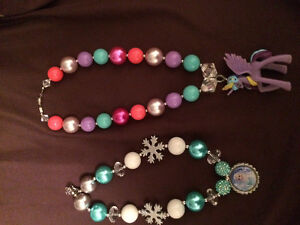 Girls necklaces Disney Frozen & MLP