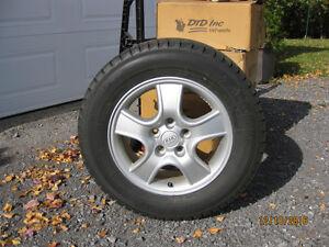 Pneus et roues 215 65 16