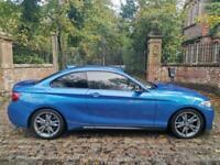 66 PLATE BMW 240i COUPE AUTO 53,608 MILES M PERFORMANCE XENONS NAV 18'' ALLOYS