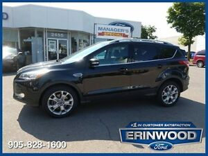 2015 Ford Escape Titanium2.0L/LTHR/PROOF/NAV/PARK ASSIST/REV CAM