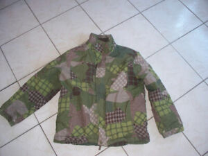 Boys winter jacket camo -kids size L great condition only $15.00