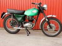 BSA B40/B25S 1969 350cc CLASSIC GREEN LANES SPECIAL TRAIL RIDER