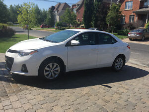 Reprise de location 2016 Toyota Corolla Berline