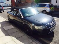 AUDI A4 S-LINE 2.5 V6 TDI DIESEL 6 SPEED MANUAL CONVERTIBLE
