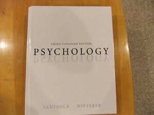 3rd Canadian Edition of Psychology Stanrock/Mitterer