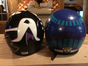 Snowmobile Helmet - 2 Helmets for $20