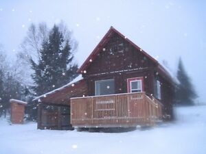 WINTER CABIN RENTAL/COUPLES GETAWAY/BANCROFT