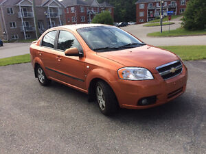 2007 Chevrolet Aveo full+ toit