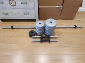 27.5KG weight set