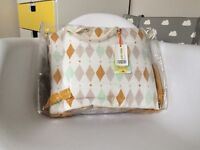 Mamas and papas patternology cot bumper new in original pack