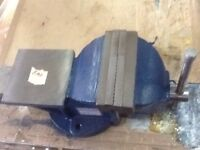 Sealey 150mm 6 inch bench vice fixed base