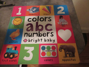 Preschoolers - Colors, ABC, and numbers etc.  Fun learning.