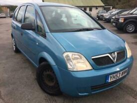 image for 2004 Vauxhall Meriva 1.6 8V LIFE 5DR 12 MONTHS MOT MPV Petrol Manual