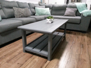Rustic coffee table (new)