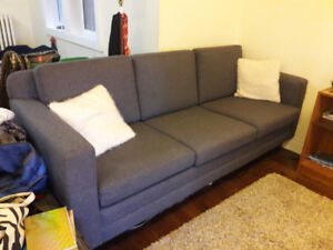 Couch 4 Sale - PICK-UP ONLY RONCY & HOWARD PARK