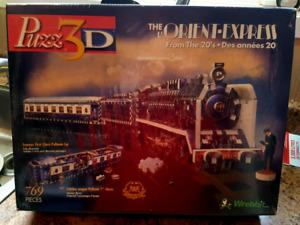 The Orient Express 3D Puzzle