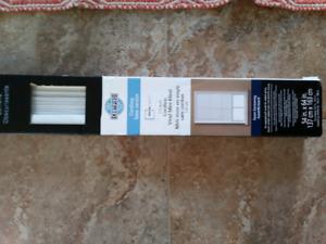New cordless mini blinds