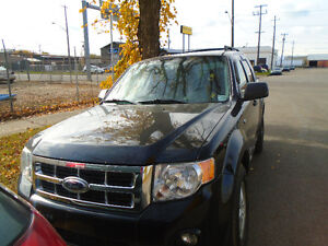 ***2008 Ford Escape leather seat