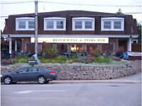 Experienced Server need in the resort town of Tobermory, Ontario